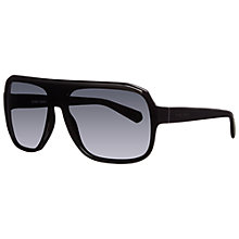 Buy Giorgio Armani AR8023 Thick Acetate Square Framed Sunglasses Online at johnlewis.com