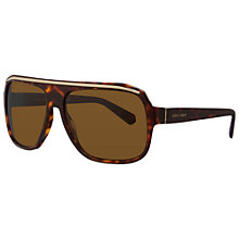 Buy Giorgio Armani AR8023 Thick Square Framed Sunglasses Online at johnlewis.com