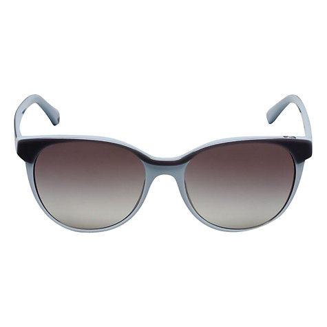 Buy Emporio Armani EA4016 511311 D-Framed Sunglasses, Blue Online at johnlewis.com