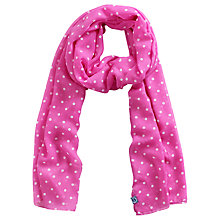 Buy Joules Wensley Spot Chiffon Scarf Online at johnlewis.com