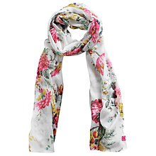 Buy Joules Wensley Chiffon Bouquet Scarf, Multi Online at johnlewis.com