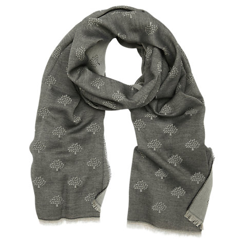 Buy Mulberry Tamara Superfine Cotton Scarf Online at johnlewis.com