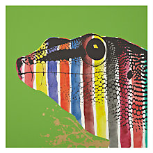 Buy Gallery One Lizard Stripes Picture Box, 50 x 50cm Online at johnlewis.com