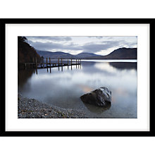 Buy James Bell - Reflection on Still Water Framed Print, 64 x 84cm Online at johnlewis.com
