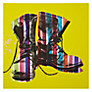 Buy Gallery One Boots Stripes Picture Box, 50 x 50cm Online at johnlewis.com