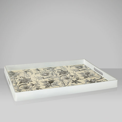 Buy Brissi Damask Tray Online at johnlewis.com