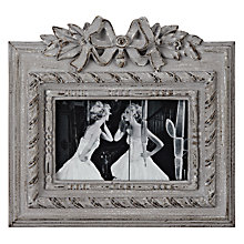 "Buy Brissi Celine Photoframe, 3 x 5"" (7.5 x 13cm), Grey Online at johnlewis.com"