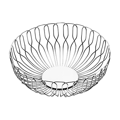 Image of Georg Jensen Alfredo Bread Basket, Dia.22cm