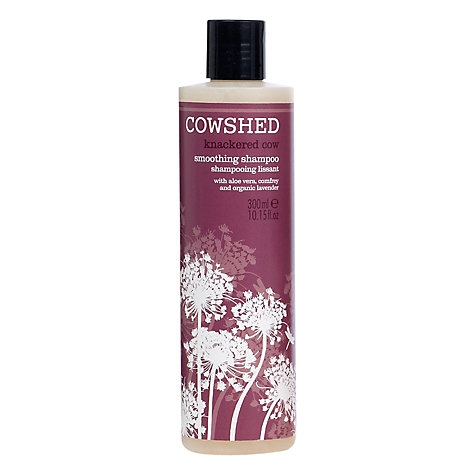 Buy Cowshed Knackered Cow Smoothing Shampoo, 300ml Online at johnlewis.com