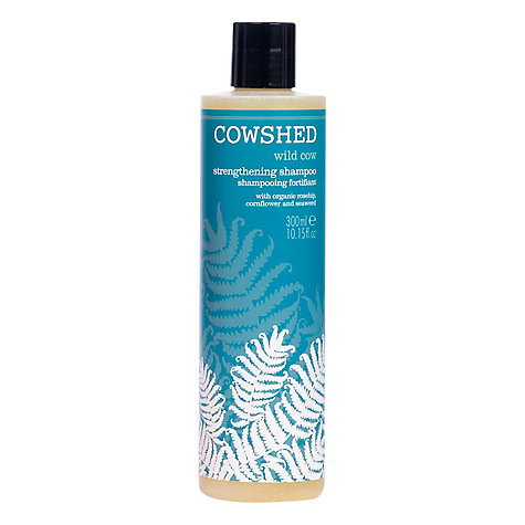 Buy Cowshed Wild Cow Strengthening Shampoo, 300ml Online at johnlewis.com
