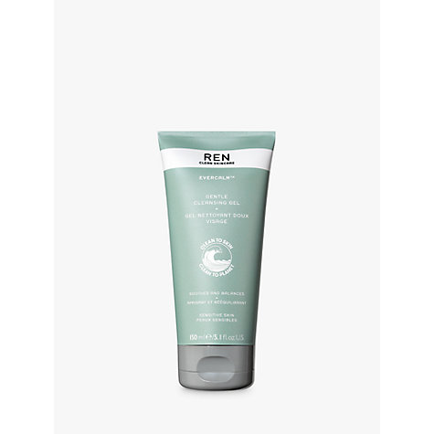 Buy REN Evercalm Gentle Cleansing Gel, 150ml Online at johnlewis.com