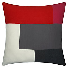 Buy House by John Lewis Geometric Square Cushion Online at johnlewis.com