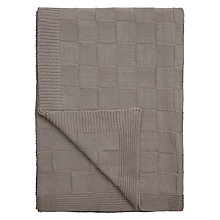 Buy John Lewis Croft Collection Lattice Weave Throw Online at johnlewis.com