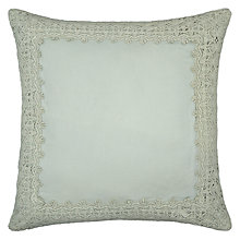 Buy John Lewis Maison Crochet Border Cushion Online at johnlewis.com