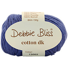 Buy Debbie Bliss Cotton DK, 50g Online at johnlewis.com