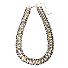 Buy Adele Marie Gold Plated Diamante Collar Necklace Online at johnlewis.com