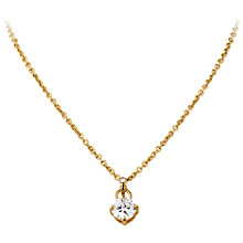 Buy Dryberg/Kern Tione Cubic Zirconia Crystal Pendant Necklace Online at johnlewis.com