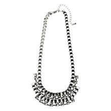 Buy Adele Marie Silver Plated Diamante Necklace Online at johnlewis.com