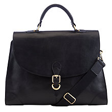 Buy John Lewis Leather Satchel Online at johnlewis.com
