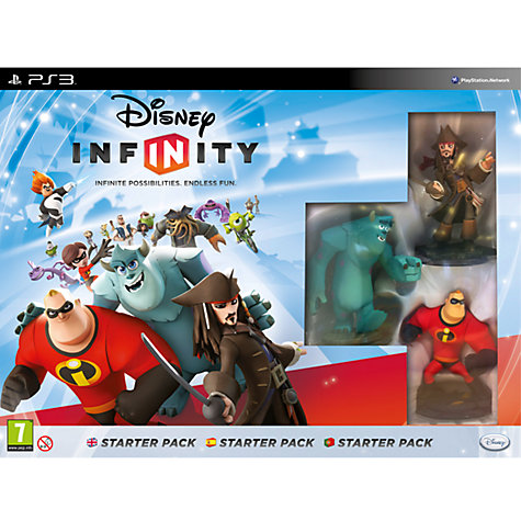 Buy Disney Infinity Starter Pack, PS3 Online at johnlewis.com