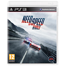 Buy Need for Speed: Rivals, PS3 Online at johnlewis.com