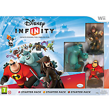 Buy Disney Infinity Starter Pack, Wii Online at johnlewis.com