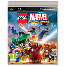 Buy Lego Marvel Super Heroes, PS3 Online at johnlewis.com