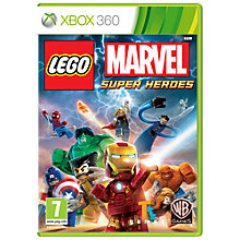 Buy Lego Marvel Super Heroes, Xbox 360 Online at johnlewis.com