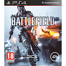 Buy Sony PlayStation 4 Console, Battlefield 4, FIFA 14 & Need for Speed: Rivals Online at johnlewis.com