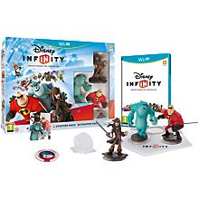 Buy Disney Infinity Starter Pack, Wii U Online at johnlewis.com