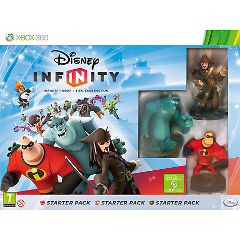Buy Disney Infinity Starter Pack, Xbox 360 Online at johnlewis.com