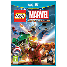 Buy Lego Marvel Super Heroes, Wii U Online at johnlewis.com