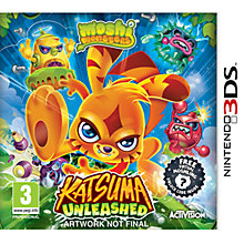 Buy Moshi Monsters: Katsuma Unleashed, 3DS Online at johnlewis.com