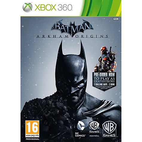 Buy Batman: Arkham Origins, Xbox 360 Online at johnlewis.com