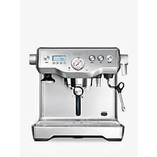Buy Sage by Heston Blumenthal the Dual Boiler™ Espresso Coffee Machine, Silver Online at johnlewis.com
