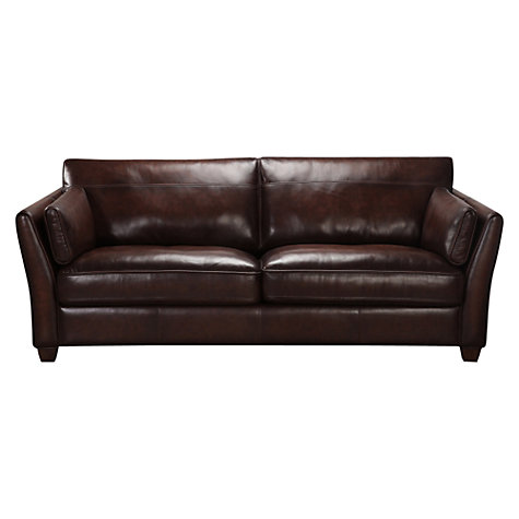 Buy John Lewis Hamilton Leather Sofa Range Online at johnlewis.com