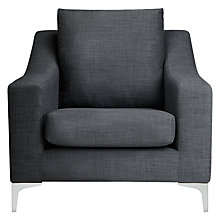 Buy John Lewis Sienna Chair, Linoso Steel Online at johnlewis.com