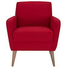 Buy John Lewis Kai Armchair, Stockholm Pomegranate Online at johnlewis.com