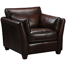 Buy John Lewis Hamilton Leather Armchair Online at johnlewis.com