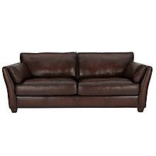 Buy John Lewis Hamilton Large Leather Sofa Online at johnlewis.com