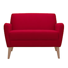 Buy John Lewis Kai Petite Sofa, Stockholm Pomegranate Online at johnlewis.com