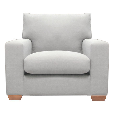 Buy John Lewis Ashton Armchair, Bala Silver Online at johnlewis.com