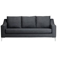 Buy John Lewis Sienna Large Sofa, Linoso Steel Online at johnlewis.com
