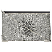 Buy Dune Busky Clutch Bag, Silver Online at johnlewis.com