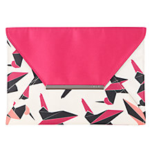 Buy Coast Bird Print Envelope Clutch Online at johnlewis.com