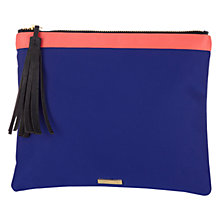 Buy Coast Zip Top Pouch, Cobalt Online at johnlewis.com