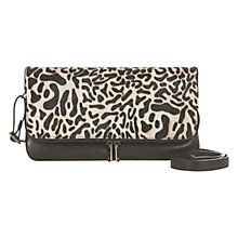 Buy Mint Velvet Ponyskin Cross Body Bag, Black Online at johnlewis.com
