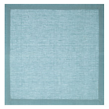 Buy John Lewis Croft Collection Elgin Napkin, Light Blue, Set of 4 Online at johnlewis.com