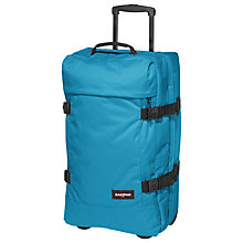 Buy Eastpak Transfer 4 Wheel Medium Holdall, Whale Blue Online at johnlewis.com