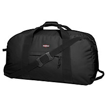 Buy Eastpak Warehouse 2-Wheel Travel Bag, Black Online at johnlewis.com
